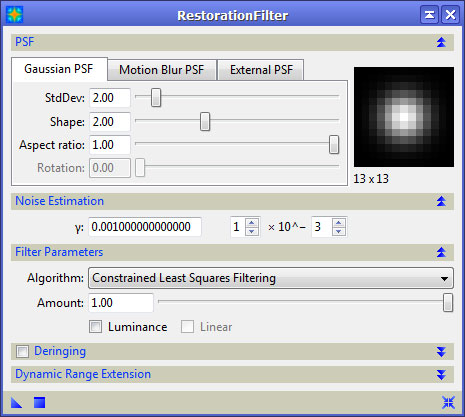PixInsight v1 5 - Unofficial Reference Guide: Deconvolutions